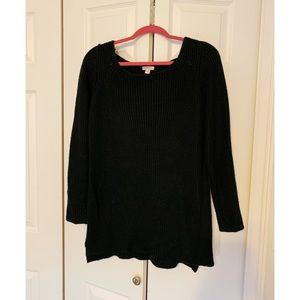 Black Sweater Tunic
